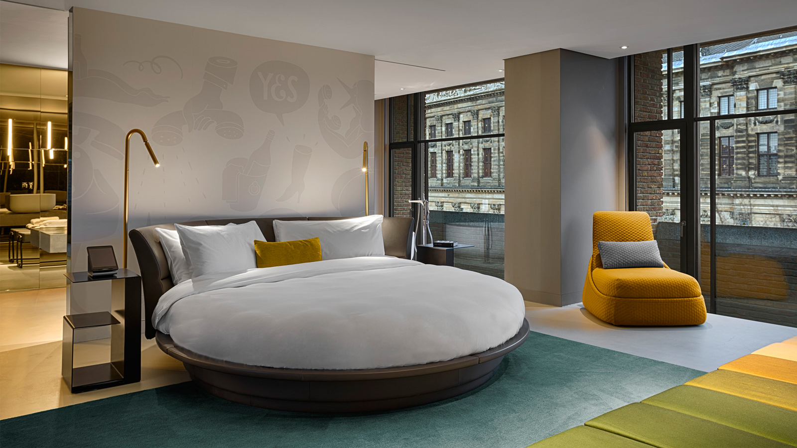 W amsterdam rooms for W hotel bedroom designs