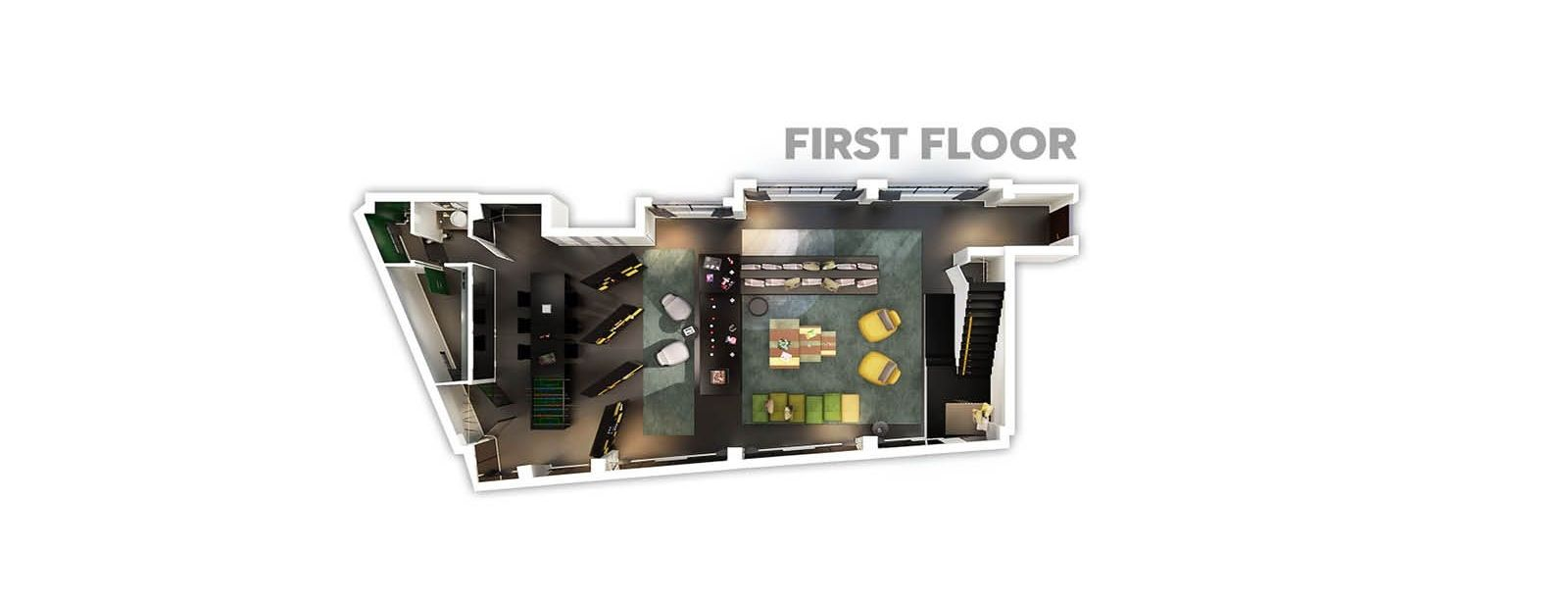 First Floor - Extreme Wow Suite Bank - W Amsterdam